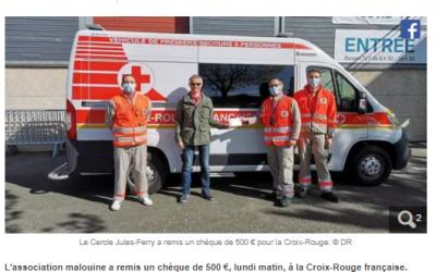Saint-Malo – Le Cercle Jules-Ferry se mobilise pour la Croix-Rouge